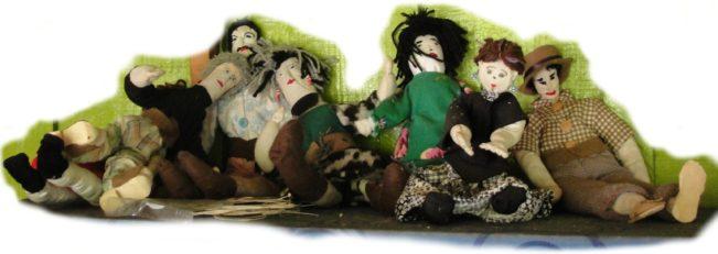 bonecos do Mandicuera, foto Silzi Mossato